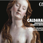 Couverture de la pochette du disque de Caldara Maddalena ai piedi di Cristo qui sortira en septembre