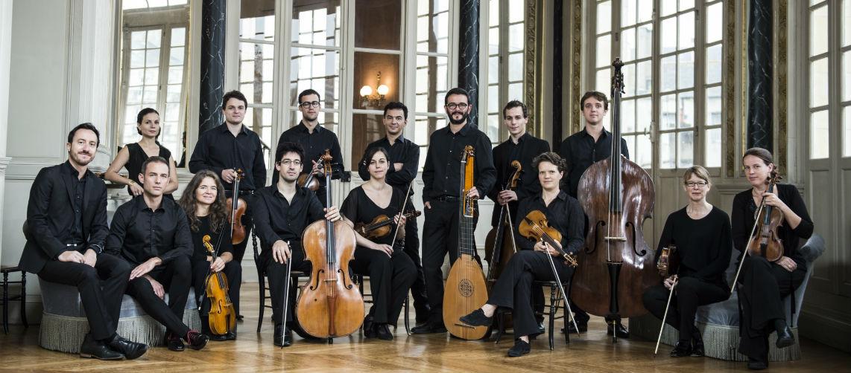 orchestre banquet céleste foyer opéra de Rennes