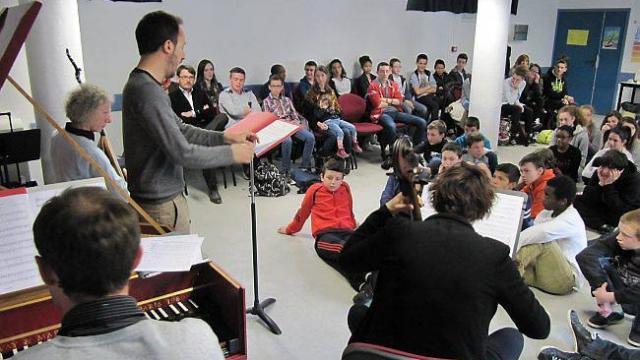 musique baroque et pavane pour les 5e de tanguy prigent